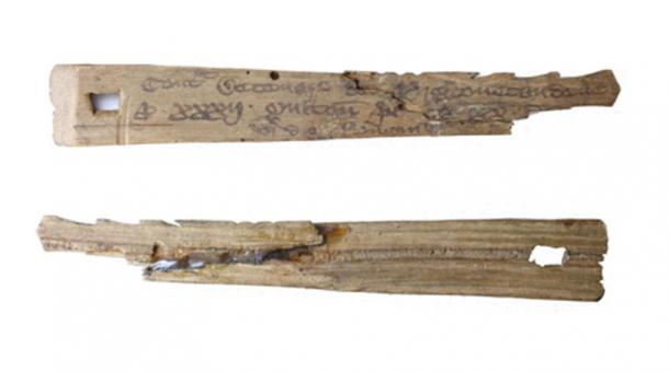 Medieval English tally sticks recorded transactions and monetary debts