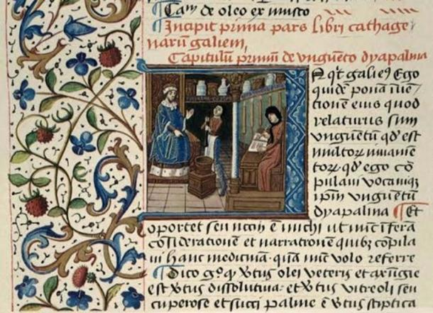 A Medieval Medical Text (Wellcome Library Collection)