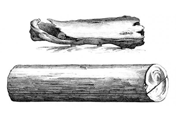 Medieval Wood Coffins - 9th-10th century. (Erica Guilane-Nachez / Adobe)