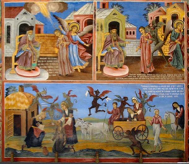 Medieval magic was policed by the church. (Martha Forsyth / CC BY-SA 2.5)