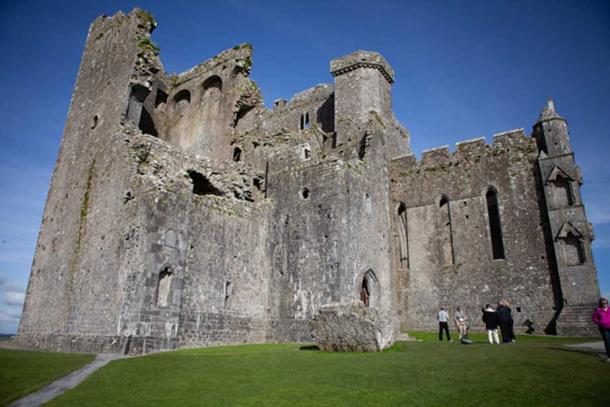 Medieval ruins of Christian buildings sit atop the Rock of Cashel. Credit: Ioannis Syrigos