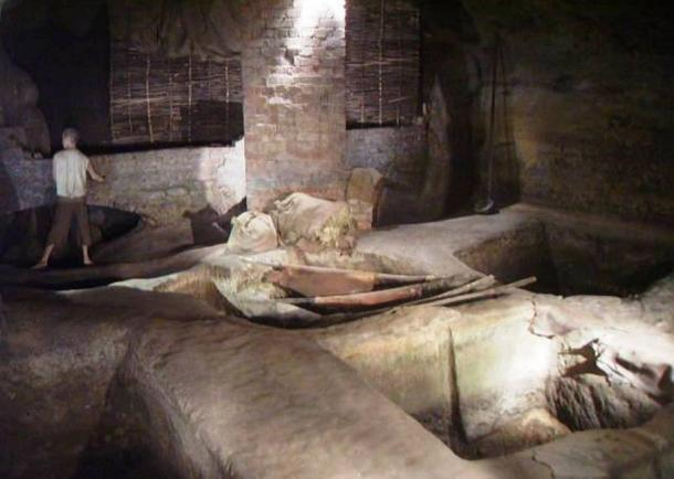 Medieval tannery excavated at City of Caves in Nottingham