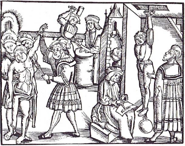 Medieval torture was used when someone broke the law. (Årvasbåo / Public Domain)