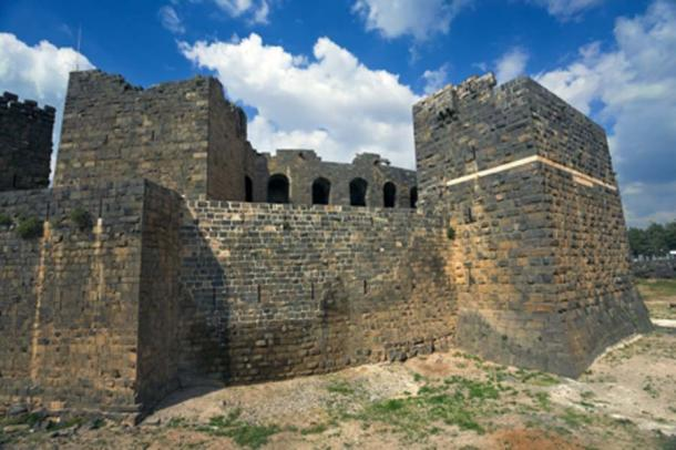 Medieval Arab citadel built around the Roman theater of Bosra. (WitR/Adobe Stock)