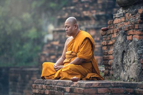 Meditate Zen Meditation Sitting Buddhist Monk (CC0)