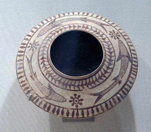 Mehrgarh painted pottery. 3000-2500 BC. (CC0)