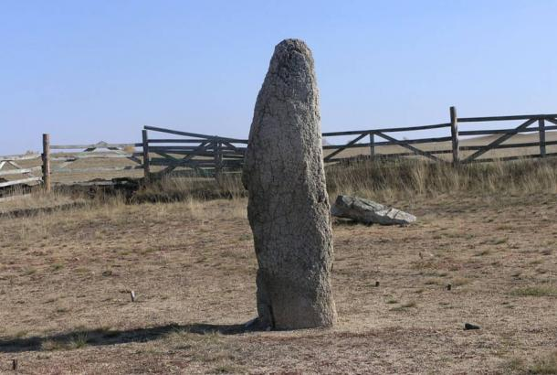 Menhir at Akhunovo