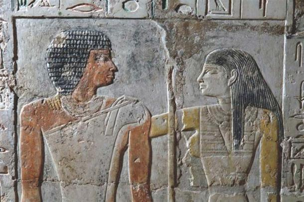 Meretites and Kahai – an ancient Egyptian couple who lived 4,400 years ago.