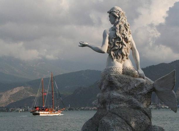 Mermaid Statue, Turkey