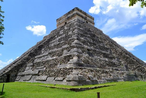 Mesoamerican Pyramid (Public Domain)