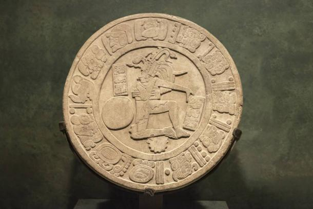 Ball player disc from Chinkultic, Chiapas. (LRafael /Adobe Stock)