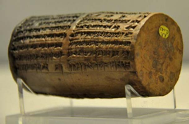 Mesopotamia drum from Ur, southern Mesopotamia, (Neuroforever / CC BY-SA 4.0)