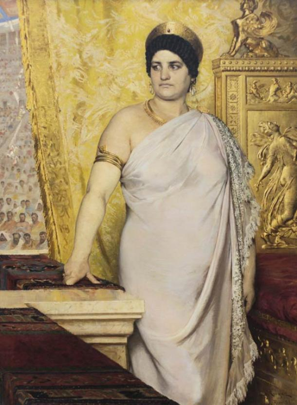 Peder Severin Krøyer, Messalina, 1881, Gothenburg Museum of Art.