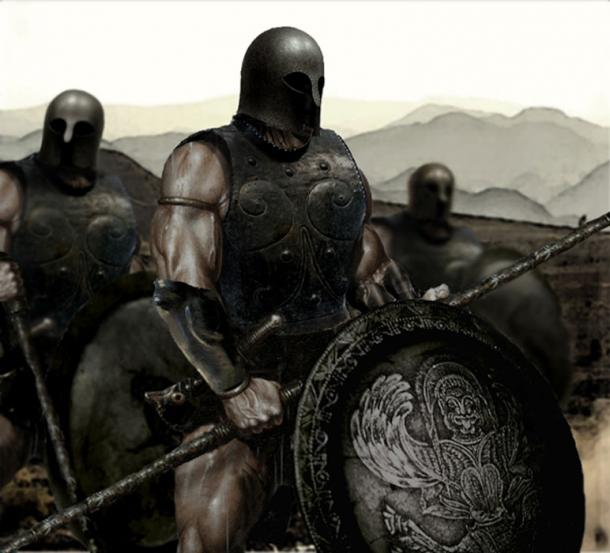 Messenian war, Spartan Solider. (Niko978 / CC BY-SA 2.0)