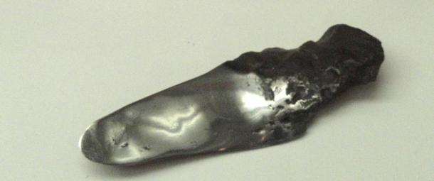 Meteoric iron, found in Henbury, Australia, 1931 - Higgins Armory Museum, 2011.