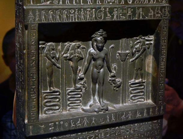The Metternich Stela, another stone monument from the time of the reign of King Nectanebo II. Photo Source: