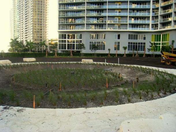 Miami Circle, Miami, Florida, USA