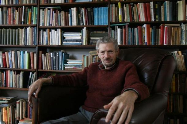 Michael Grosso, Ph.D., in his home in Charlottesville, Va., on Feb. 4, 2015.