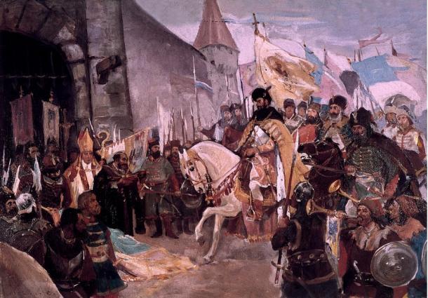 Michael the Brave entering Alba Iulia
