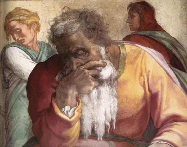 Michelangelo's depiction of Jeremiah. (Michelangelo / Public domain)