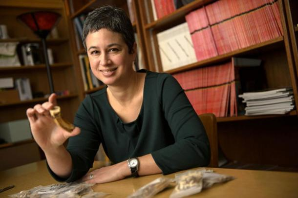 Michele Buzon, a Purdue University associate professor of anthropology, is excavating pyramid tombs in Tombos, Sudan to study Egyptian and Nubian cultures from thousands of years ago in the Nile River Valley.