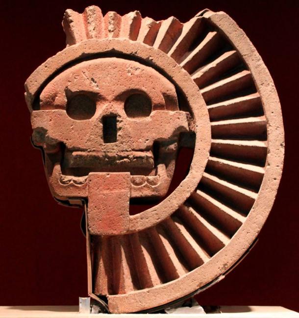 Mictlantecuhtli, Aztec god of the Dead, found in Teotihuacan