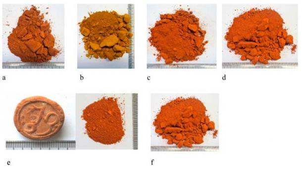 Miltos samples from Kea and Lemnos
