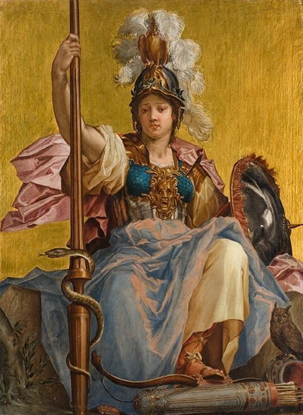 Minerva by Johan Sylvius.