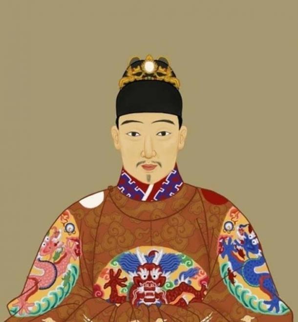 Ming Emperor Chongzhen.