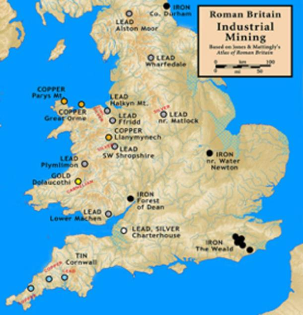 Mining in Roman Britain. (Notuncurious / CC BY-SA 3.0)