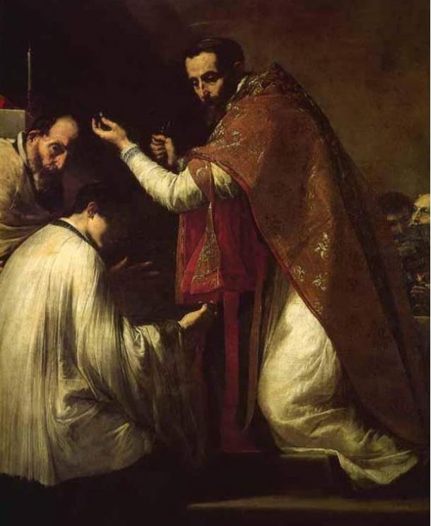 The Miracle of Saint Donatus by Jusepe de Ribera, Musée de Picardie.