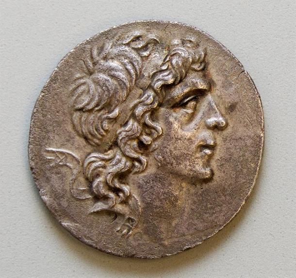 Mithradates VI Eupator on a silver coin of Pontus, 2nd–1st century BCE (Yale University Art Gallery)