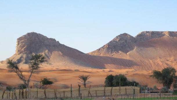 Mleiha, once one of the largest settlements in the Emirates