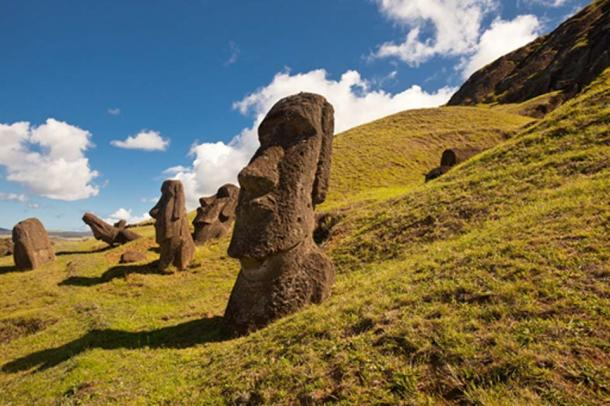 Moai statues on Easter Island. Credit: BigStockPhotos