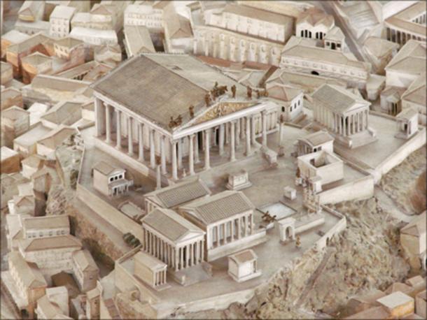 Model of Museo della Civiltà Romana. (Magnus Manske / CC BY-SA 2.0)