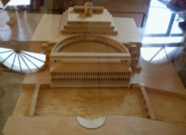 Model of the Roman Theater, according to the studies of Andrea Palladio. (Magnus Manske / CC BY-SA 3.0)