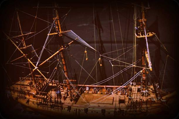 Model of the Whydah Galley (CC BY 2.0)
