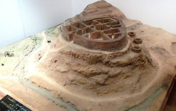 Model of the tomb of Tin Hinan in the Bardo National Museum of Prehistory and Ethnography, Algeria.