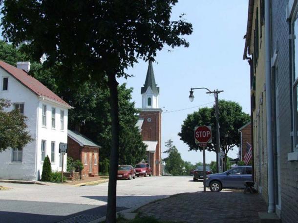 Modern Burkittsville.