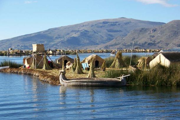 Modern day Floating Islands of the Lake Titicaca. (CC0)