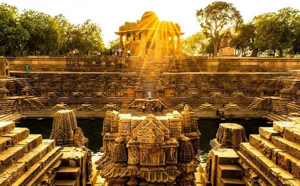 Modhera Sun Temple Stepwell