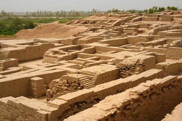 Ruins of Mohenjo Daro.