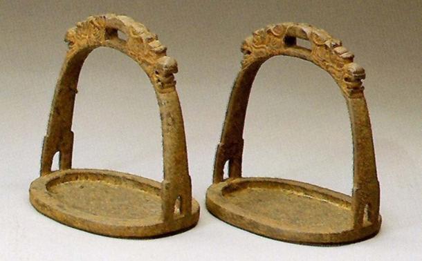 Mongolian horse stirrups.