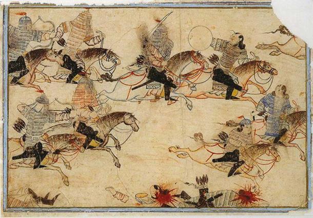 The Mongols at war. (