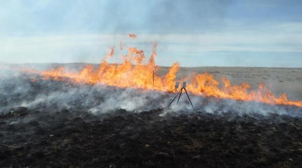 Burn Reveals Ancient Stone Effigies, Cairns, Rock formations