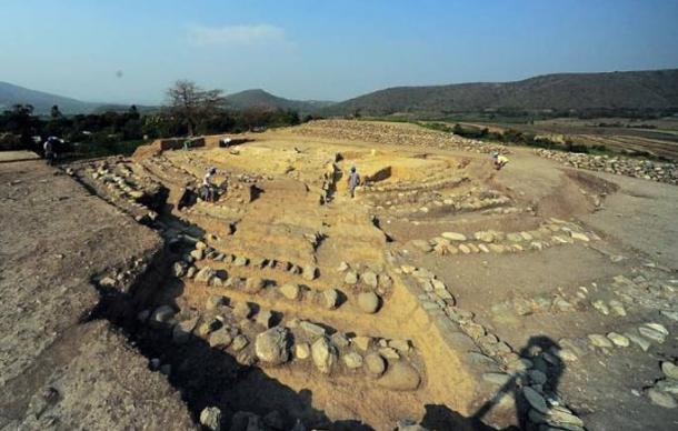 Montegrande archaeological site, Peru.