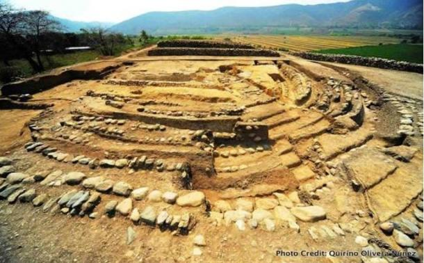 Montegrande archaeological site, Peru.