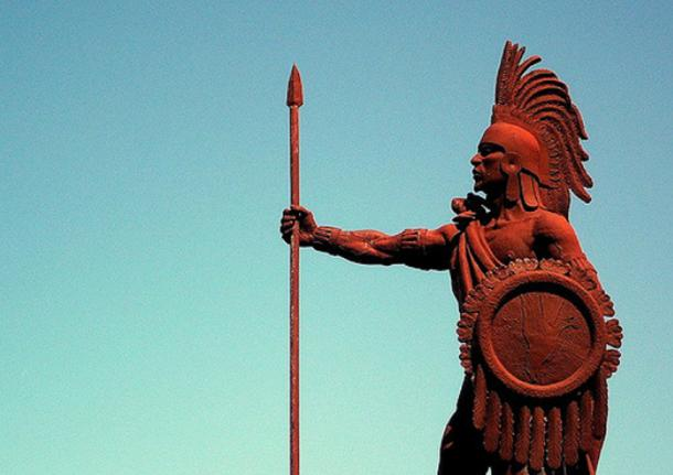 Monument of Cuauhtémoc, the last tlatoani. (Juan Francisco del Valle Mojica/CC BY 2.0)