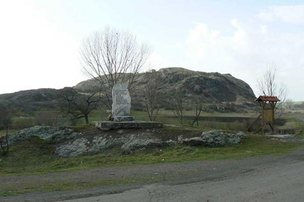Monument of the Battle of Rusokastro in 1331-2, between the villages of Rusokastro and Zhelyazovo, Bulgaria