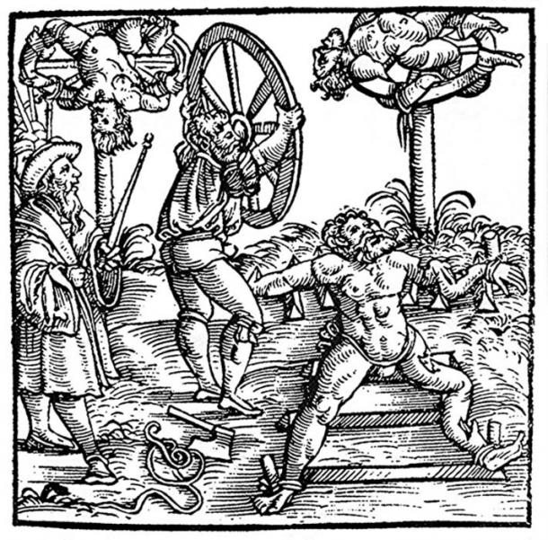 More use of the wheel in Germany for the punishment of evil crimes